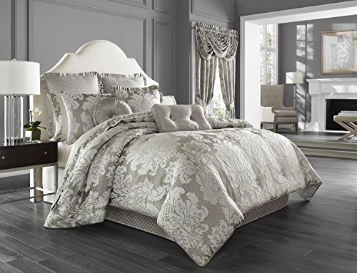 Five Queens Court Carly 4-Piece Comforter Set, King Size