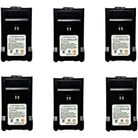 Replacement Rechargeble Li-ion Battery 1600mAh for LT-458 Walkie Talkie (6 Pack)