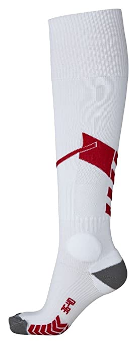 Hummel Niños Calcetines Tech Football Socks, Todo el año, Infantil, Color Blanco -