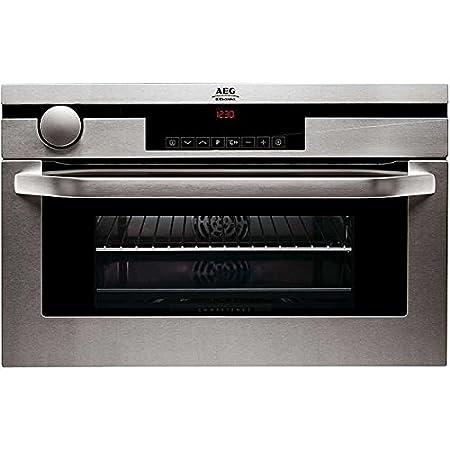 AEG KB9820EM inb oven rvs - Horno (Horno eléctrico, 31 L, Plata ...