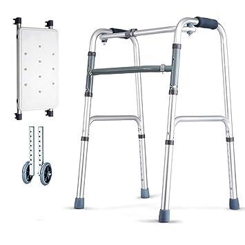 JIN Caminar Ayuda Médica Instrumentos de Plata para Adultos ...