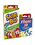 Maven Gifts: Phase 10 Card Game with Skip-Bo