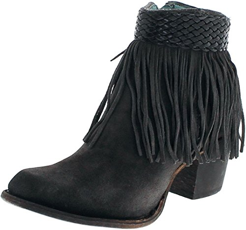 Fb Mode Laarzen Kraal Laarzen Laarzen C3099 Zwart Grijs / Vrouwen Enkellaars Bruin / Dames Schoenen / Dames Laarzen Zwart Grijs