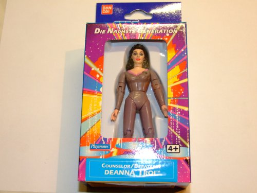 Star Trek: The Next Generation Lieutenant Commander Deanna Troi Action Figure 4.75 Inches
