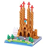 Nanoblock. The original micro-sized building block.For the construction set fan seeking a superior building experience, Nanoblock offers a greater challenge, sophistication and detail than any other system. Create exquisite 3D works of art wi...