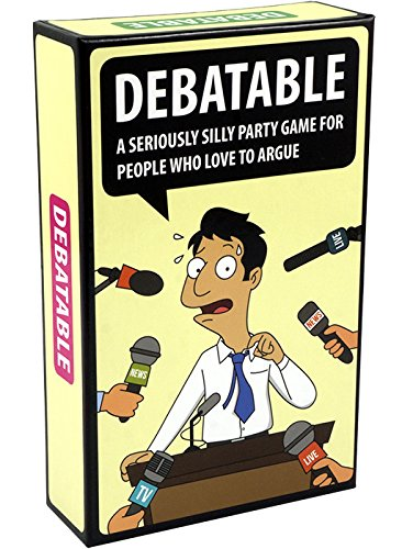 (Mindmade Games Debatable - A hilarious party game for people who love to argue)