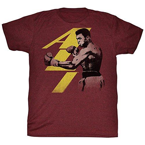 Muhammad Ali Punch Graphic T-Shirt, Size Large