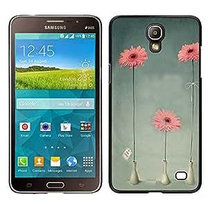 MOBMART Carcasa Funda Case Cover Armor Shell PARA Samsung Galaxy Mega 2 - 3 Flower Pot Jars