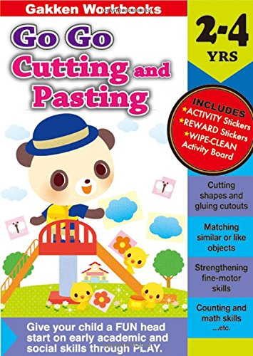 Go Go Cutting and Pasting 2-4 (Gakken Workbooks)