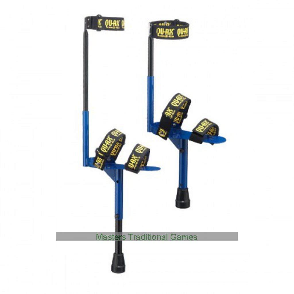 Qu-Ax Walking Peg Stilts (maximum user weight: up to 60kg) B01BYDQ4X8