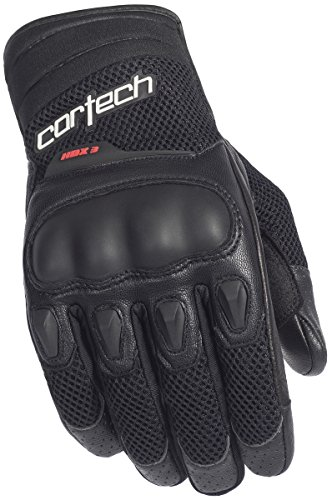 Cortech HDX 3 Gloves (LARGE) (BLACK) ()