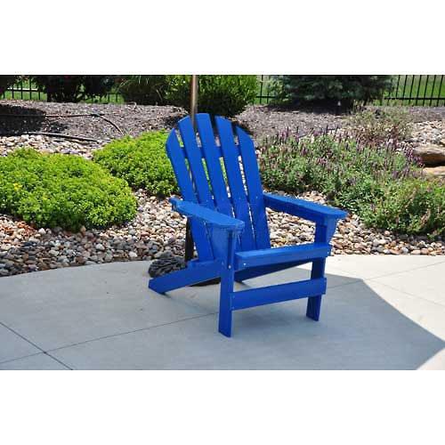 Cape Cod Adirondack Chair, Blue