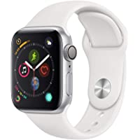 $349 » AppleWatch Series4 (GPS,40mm) - Silver Aluminium Case with White Sport Band