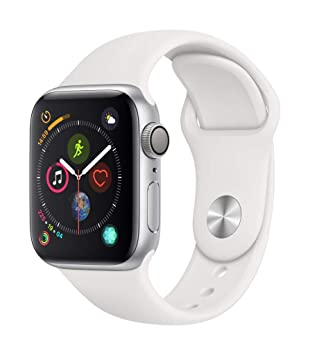 Apple Watch Series 4 - Reloj inteligente (GPS) con caja de 40 mm de