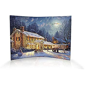 National lampoon 39 s christmas vacation curved - Home interiors thomas kinkade prints ...
