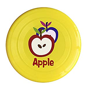 Cartoon Apple Frisbey Disk For Outdoor Games