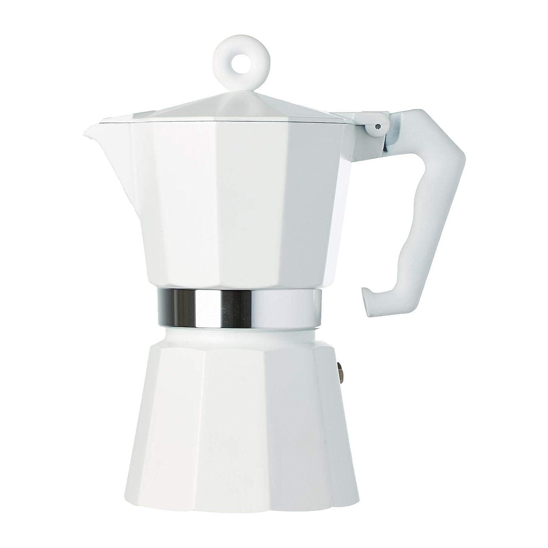 Illy Cafetera 6 Tazas Blanco: Amazon.es: Hogar