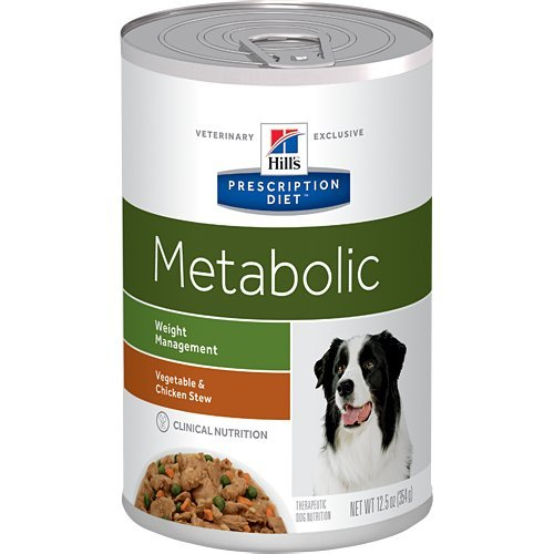 Cheap Hill's Prescription Diet Metabolic Weight Management Vegetable & Chicken Stew Canned Dog Food 12/12.5 oz