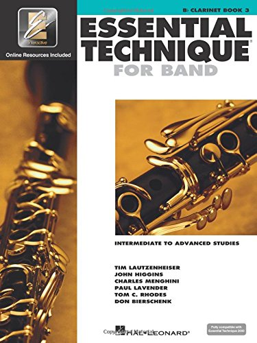 Essential Technique for Band with EEi - Intermediate to Advanced Studies: Bb Clarinet (Essential Elements Method) ()