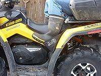 Universal Fit ATV Rear Foot Rests