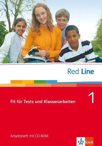 Red Line 1: Fit für Tests und Klassenarbeiten. Vorbereitung auf Kompetenztests und Lernstandserhebungen mit CD-ROM Klasse 5 (Red Line. Ausgabe ab 2006)