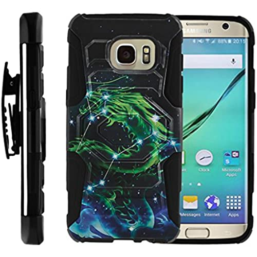 Galaxy S7 Edge Case' [ Armor Reloaded ]Refined Heavy Duty Holster Clip Rugged Armor Impact Stand Case Pattern Sales