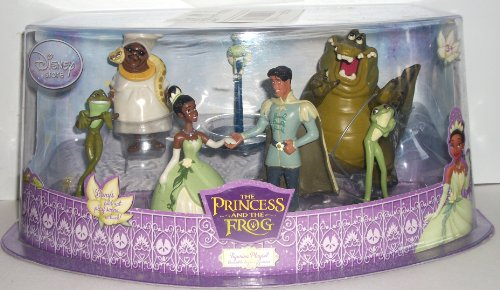 princess and the frog wedding cake topper disney princess and the frog cake toppers figurine set 7 18762