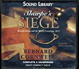 img - for Sharpe's Siege by Bernard Cornwell Unabridged CD Audiobook (Richard Sharpe's Battles) book / textbook / text book