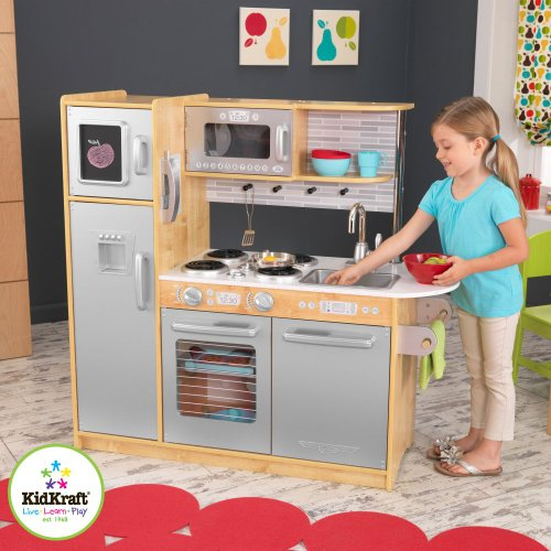 KidKraft Uptown Play Kitchen (Natural)