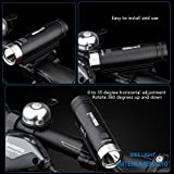 18650 Bike Lights,USB Rechargeable LED bike