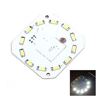 Sensor de microondas Humano Panel LED Sensor de Radar 7W DC 16-28V ...