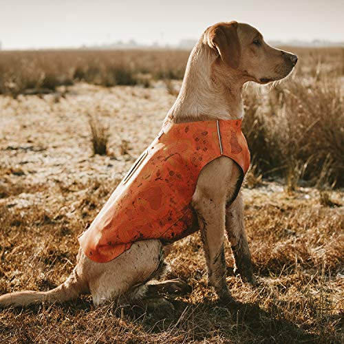 Hurtta Swimmer Vest (Bug Blocker), Hunting/Sportsman Dog Vest, Orange Camo, L by Hurtta (Image #2)