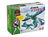 Dino Mecard Double Figure Set Microraptor and Tinysour Micro