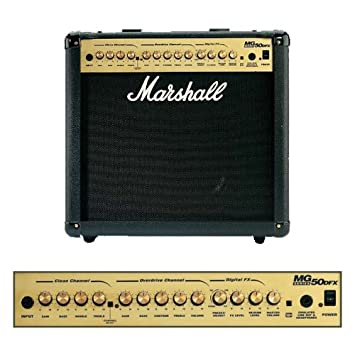Ongebruikt Marshall Amplification MG50DFX Combo - 50 Watt Electric Guitar OZ-35