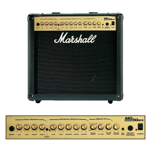 Wonderbaar Marshall Amplification MG50DFX Combo - 50 Watt Electric Guitar ZM-27