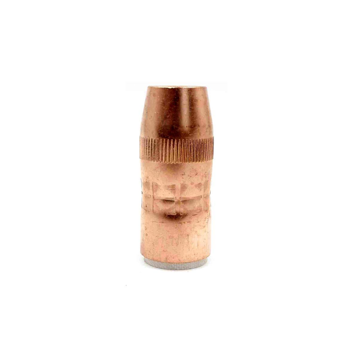 N-5818C Gas Nozzle 5//8 Bore 1//8 Recess for Bernard MIG Welding Torch Accessories pk//10
