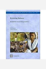 [(Restoring Balance: Bangladesh's Rural Energy Realities )] [Author: Mohammad Asaduzzaman] [Apr-2010] Paperback