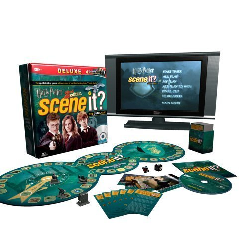 Scene It? Deluxe Harry Potter 2nd Edition by Screenlife