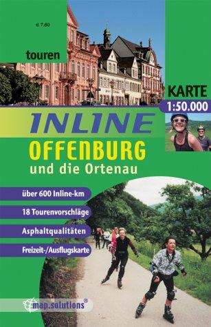 Inline Offenburg Und Die Ortenau  Inlinetouren Freizeitkarte Für Inlineskating 1 50000  Inline Tourenkarte