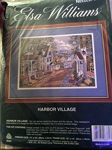 Harbor Village Needlepoint Kit By Elsa Williams