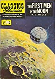The First Men in the Moon (U.K. Classics Illustrated comic #52) (HRN-129)