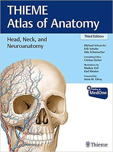Head, Neck, and Neuroanatomy (THIEME Atlas of Anatomy), 3rd Edition - Original PDF