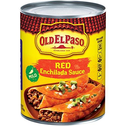Old El Paso Enchilada Sauce, Mild, Red, 28 oz Can