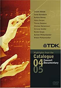 Highlights fom the Catalogue 04/05: Concert & Documentary [Import]