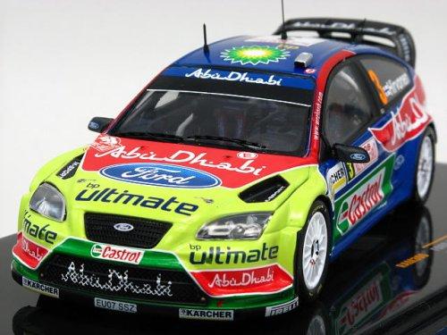 1/43 フォード・フォーカス RS WRC 2008年 ラリー・モンテカルロ #3(ブルー×グリーン×レッド) RAM300