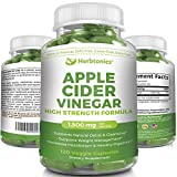 Highest Strength Apple Cider Vinegar Capsules, acv Pills 120 Capsules 1500mg ACV Capsules for Weight Loss Keto Diet for Women Men Detox Support - Apple Cider Vinegar Supplement -Cleanse Keto Burner