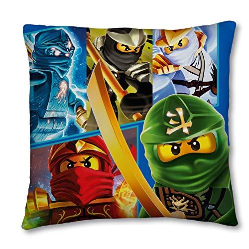 Amazon.com: LEGO Ninjago - Cojín de lona: Home & Kitchen