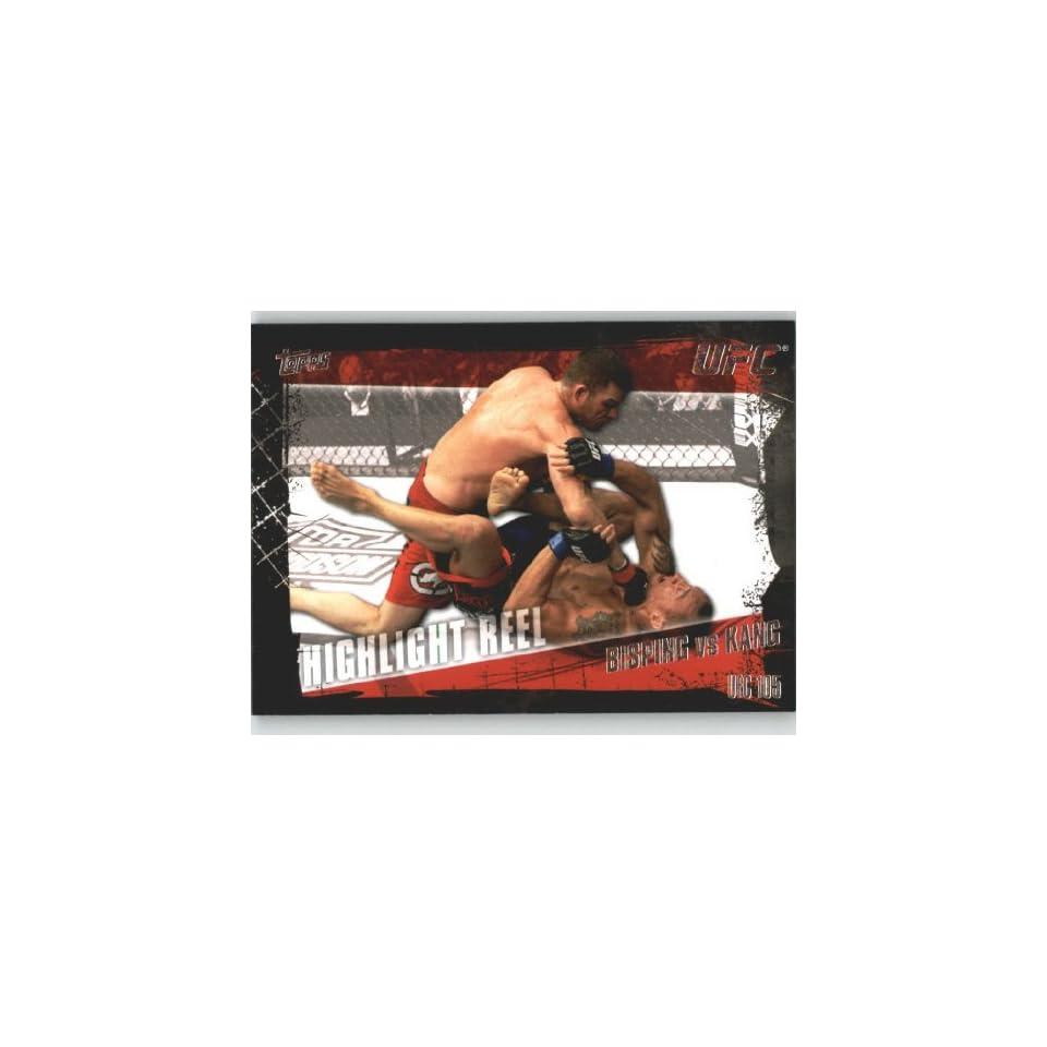 2010 Topps UFC Trading Card # 195 Michael Bisping vs Denis Kang