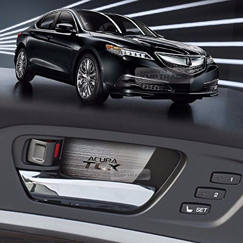 Metal Aluminum Interior Garnish Molding Protect Anti Scratch Cover For ACURA TLX 2015 2016 2017 (Garnish Molding)