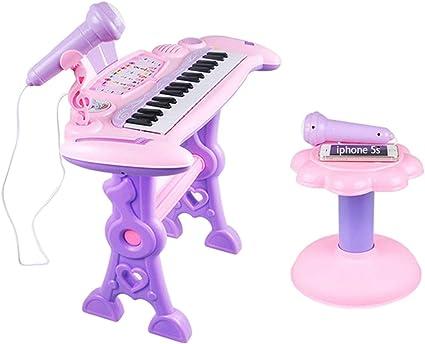 Teclado Pequeño De Piano Infantil para Niños, Rompecabezas De ...